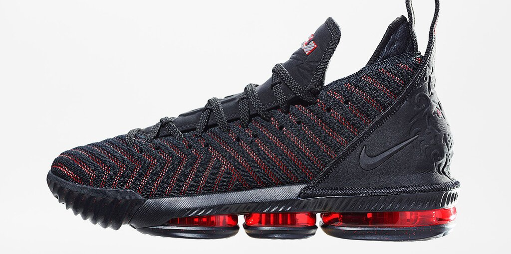 e8df3cd06cc LeBron 16  Nike unveils LeBron James s newest signature shoe