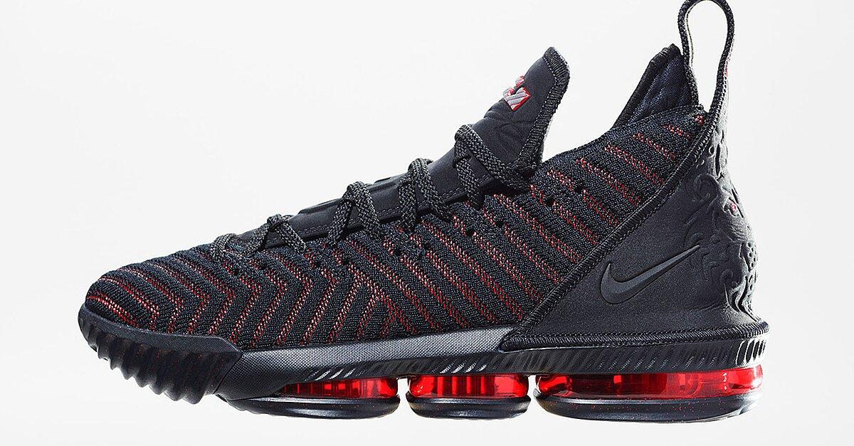 a49efa23d1af LeBron 16  Nike unveils LeBron James s newest signature shoe