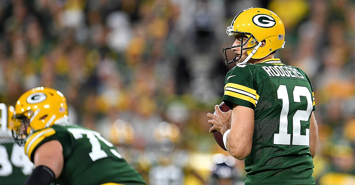 Aaron Rodgers Packers Win Bears 628 Sc Poi Face 85 Leads Epic