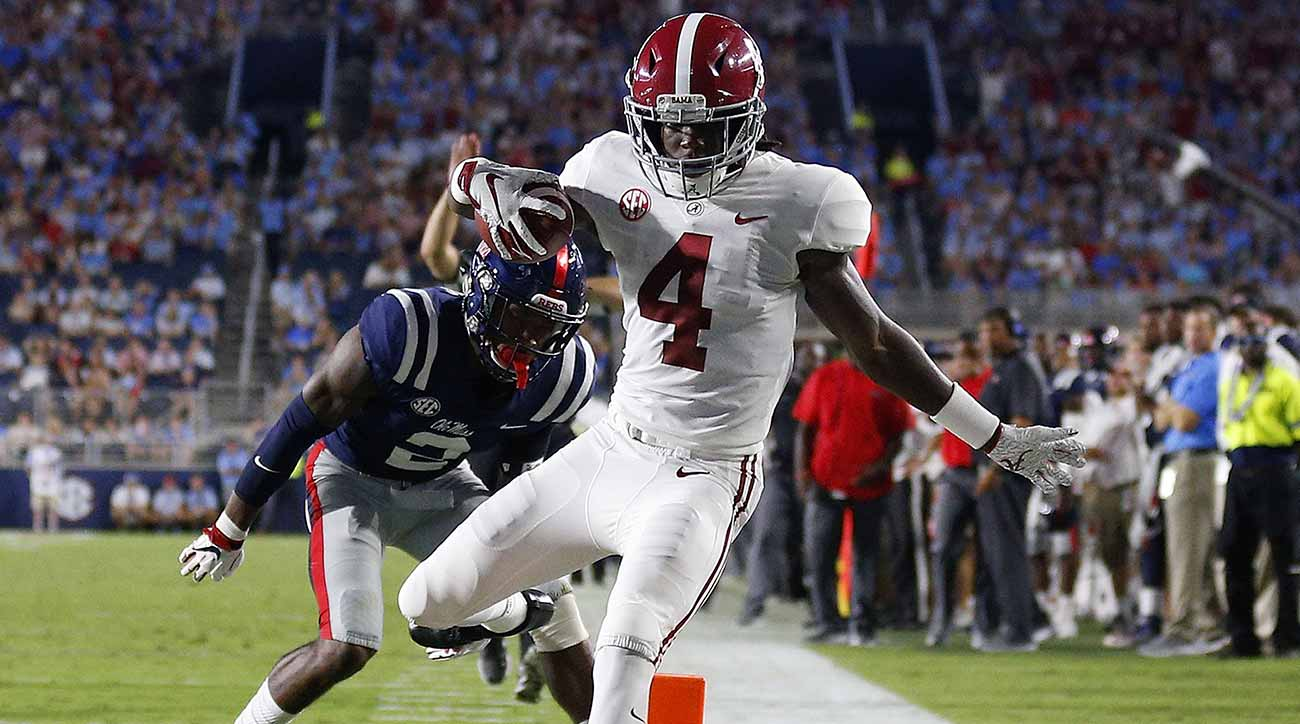 Alabama leads Ole with a 55-point run from his own stadium