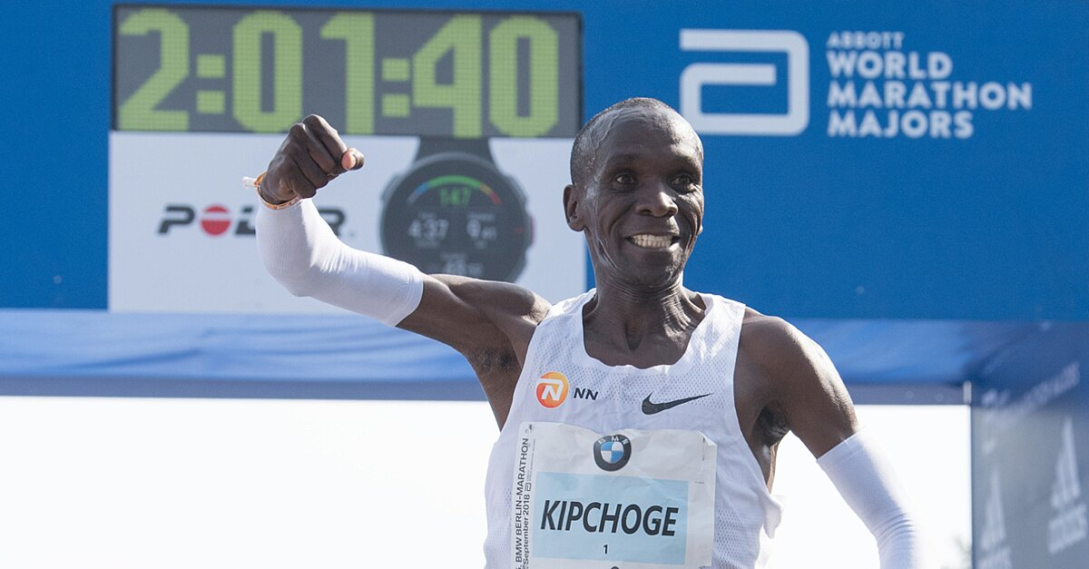 Eliud Kipchoge Breaks Marathon World Record, Cements Himself As The Greatest Of All-Time