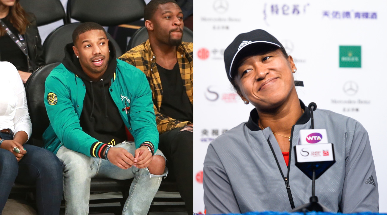 Michael B. Jordan Invites Naomi Osaka to Creed 2 Premiere After Ellen DeGeneres Plays Matchmaker