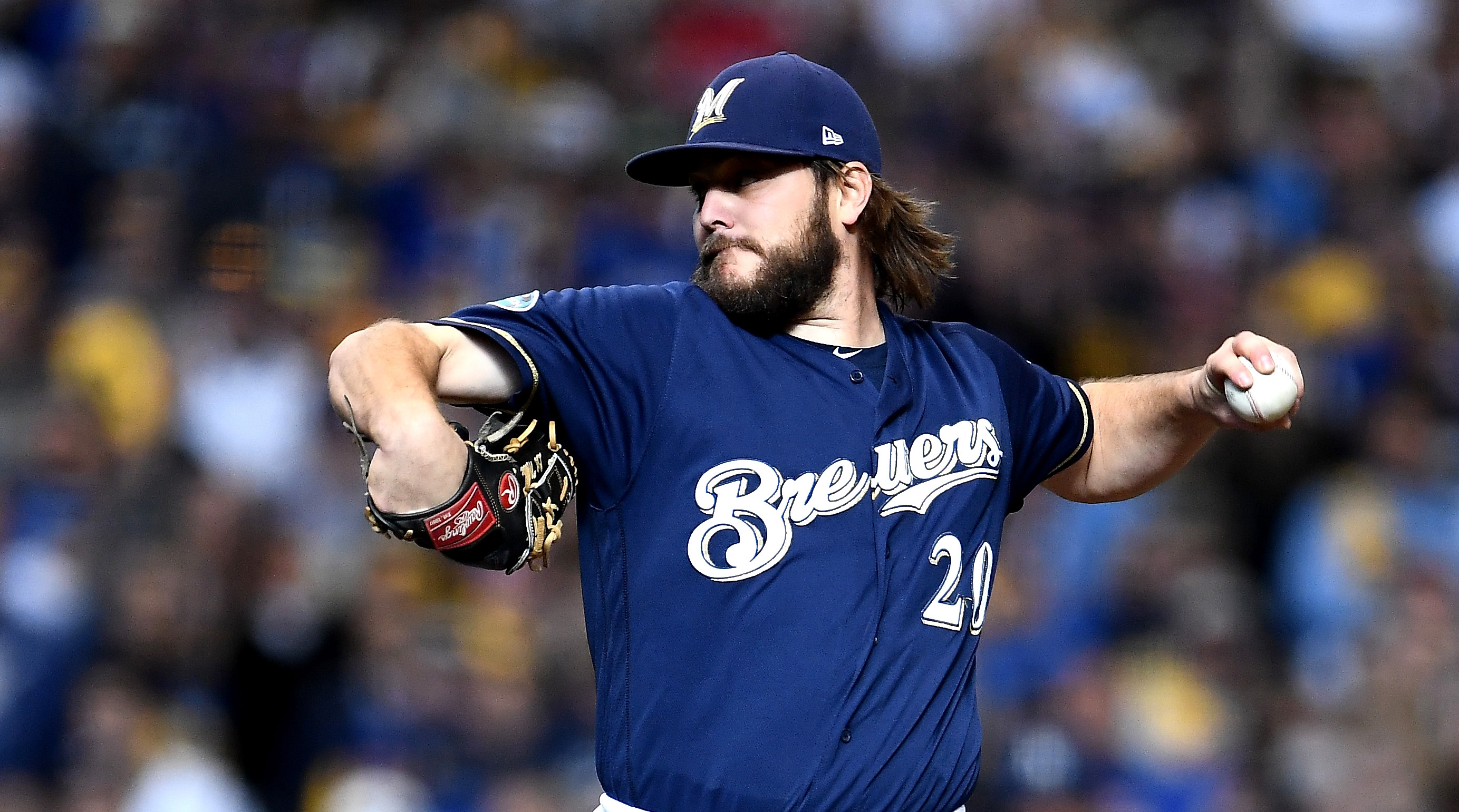 Craig Counsell Fools Dodgers Lineup, Pulls Wade Miley After Five Pitches