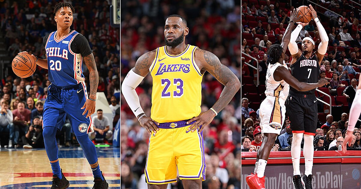 NBA Opening Week: LeBron James' Lakers Debut and More First Impressions