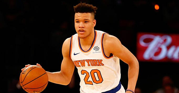 Knicks F Kevin Knox Sprained Left Ankle vs. Celtics, X-Rays Returned Negative