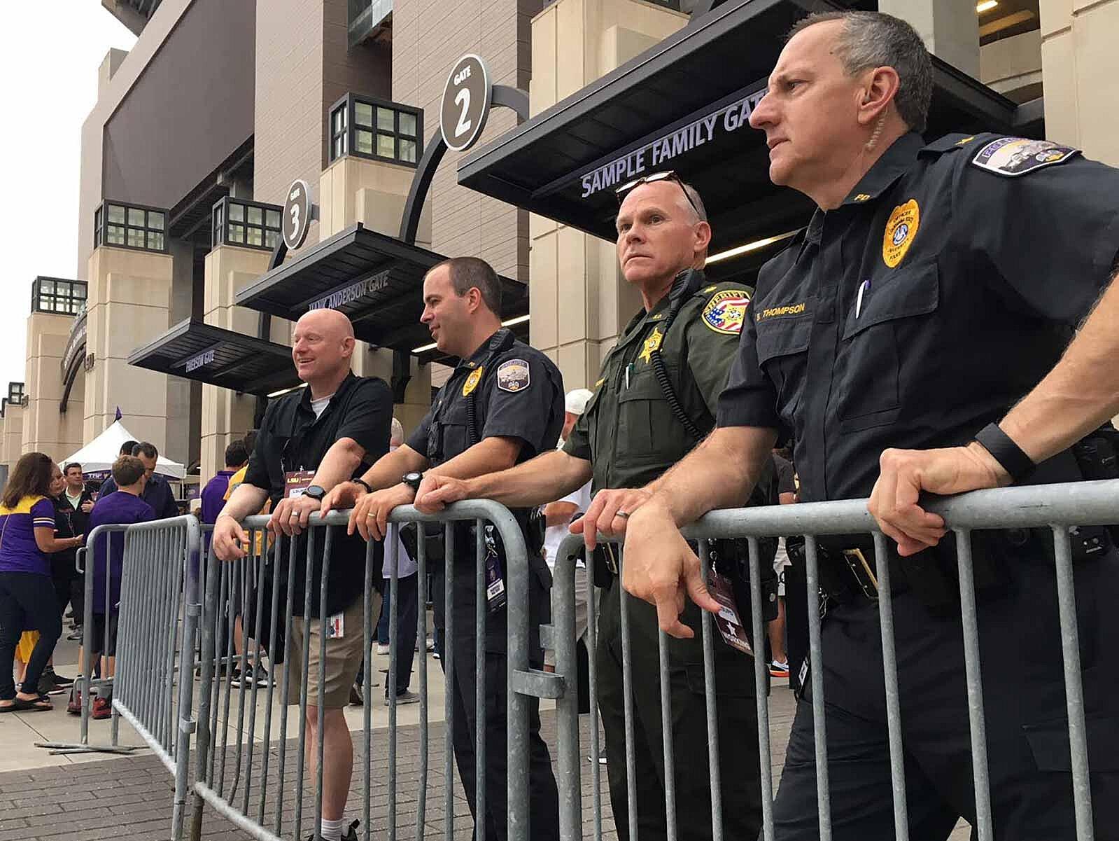 e35ed59631 LSU vs. Alabama is primetime for Baton Rouge law enforcement