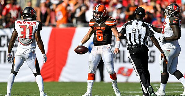 Report: NFL Privately Determines Hit On Baker Mayfield Should Have Been Flagged