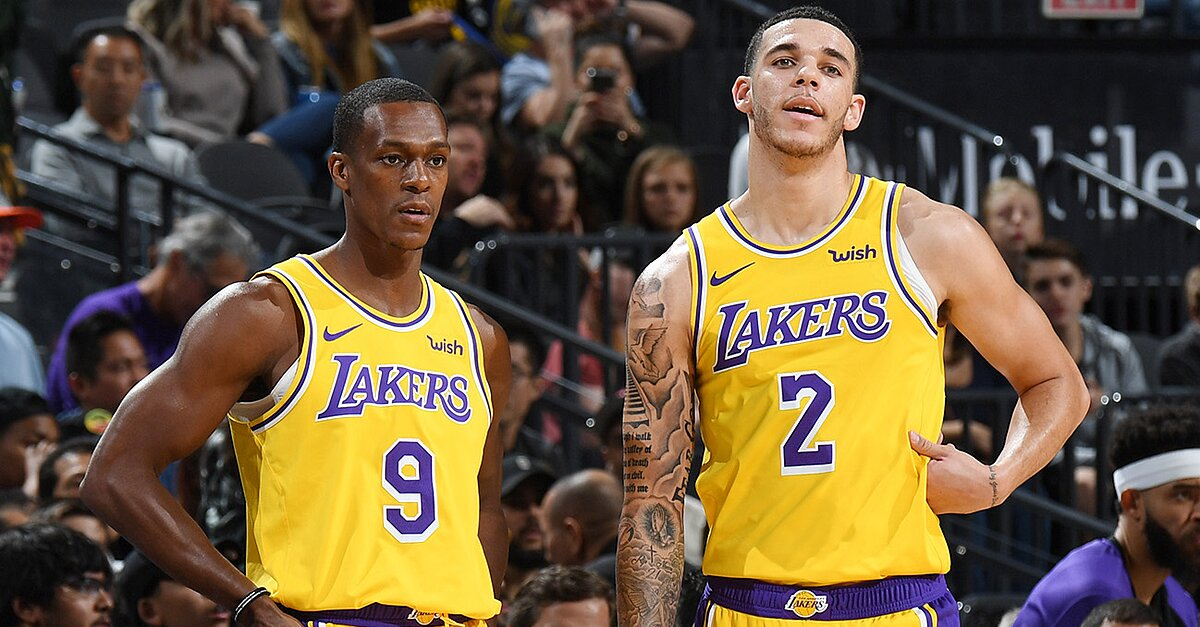 Lakers' Lonzo Ball Should Start, Even When Rondo Returns
