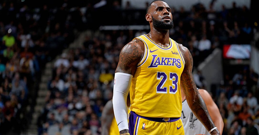 Lebron James 2018 Lakers