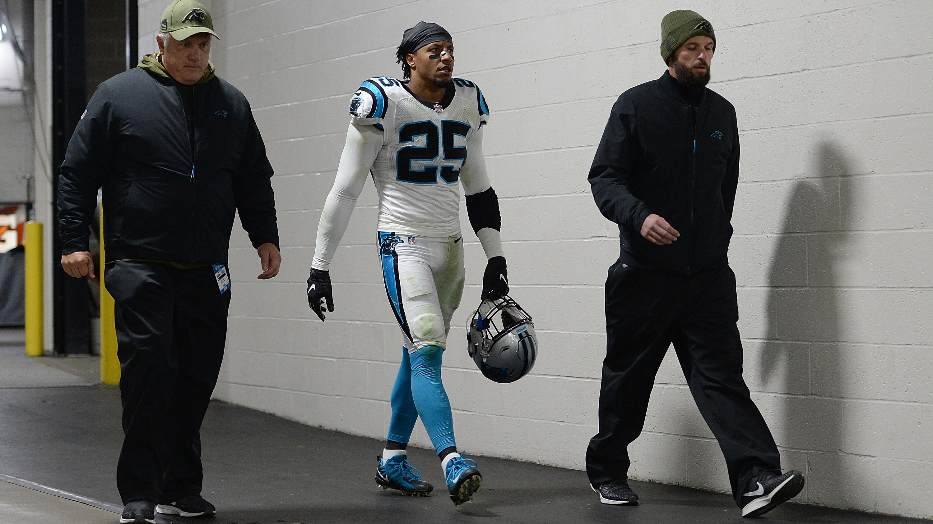 Eric Reid says the NFL tested him for drugs five times since his return