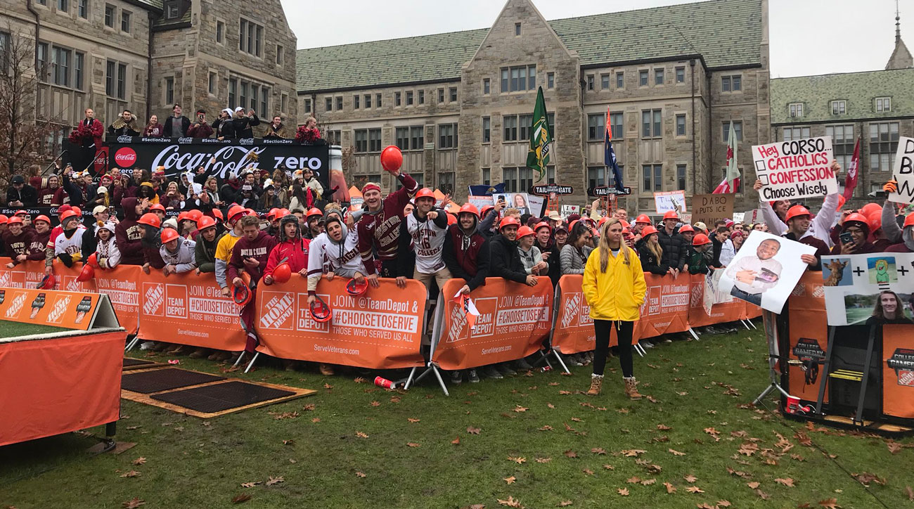 Best College GameDay Signs Live From Chesnut Hill For Boston College Vs. Clemson