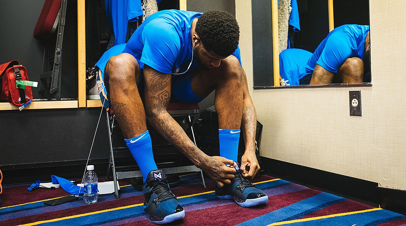 How Paul George joined the short list of signature stars  1835dfb86