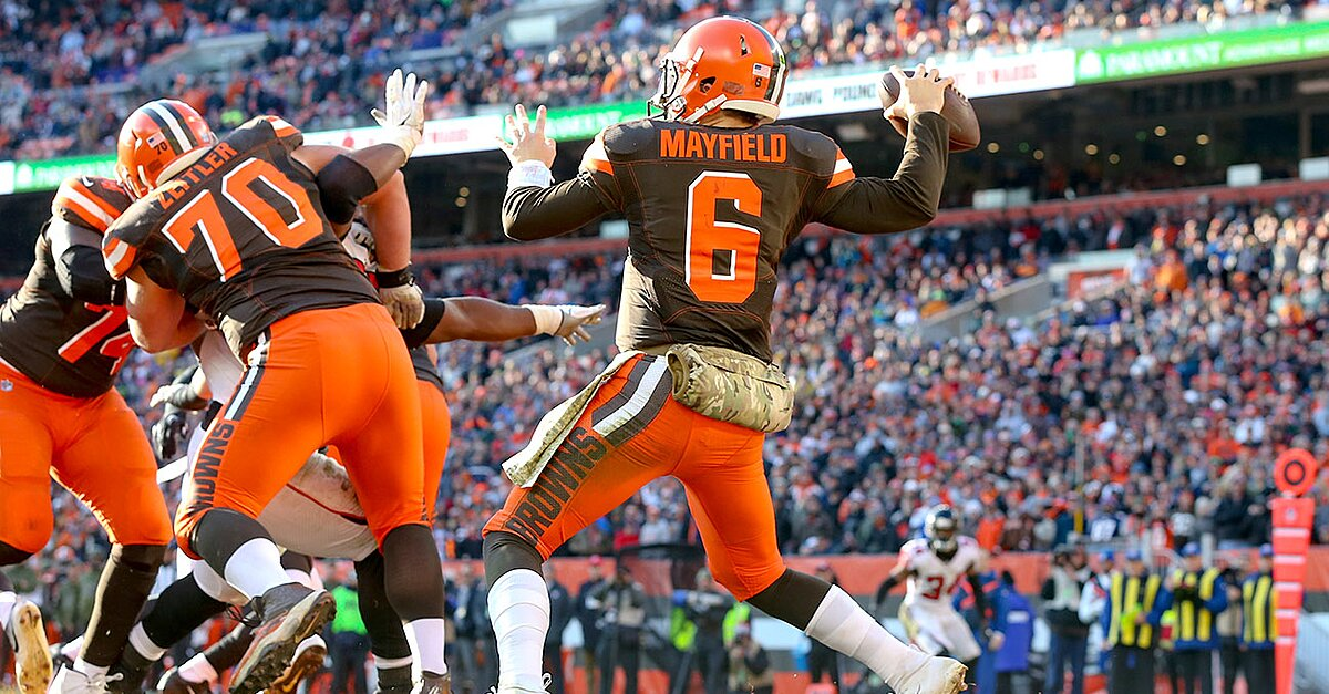 Baker Mayfield Hue Jackson 39 S Exit Has Led To Success