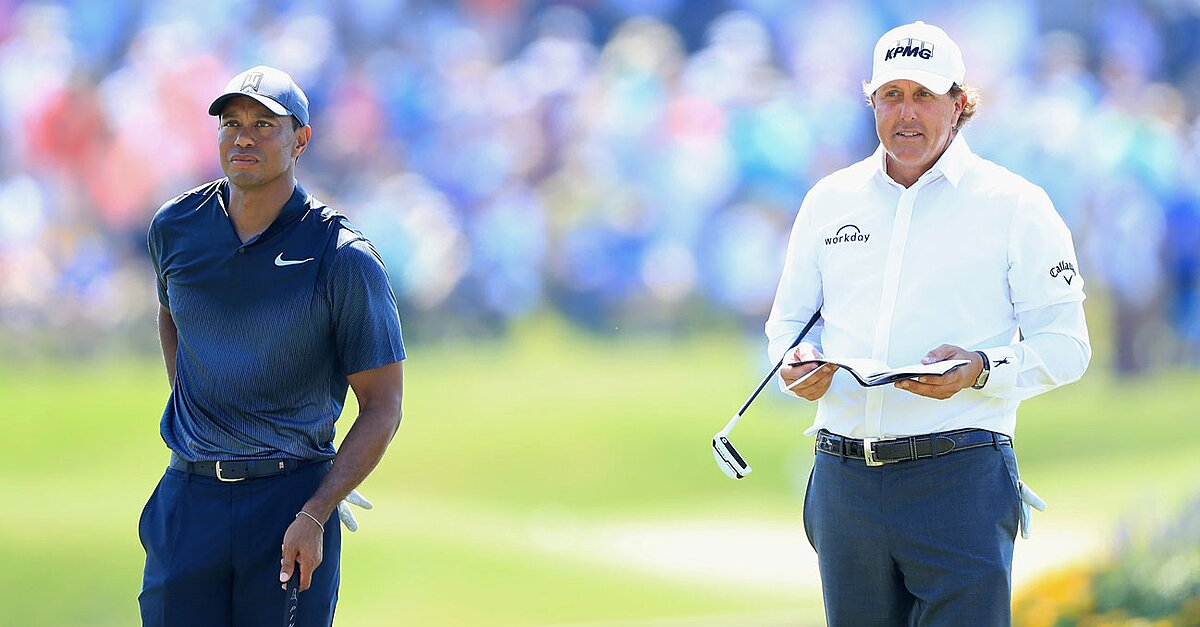 How To Watch Tiger Vs. Phil Without Cable, Live Stream
