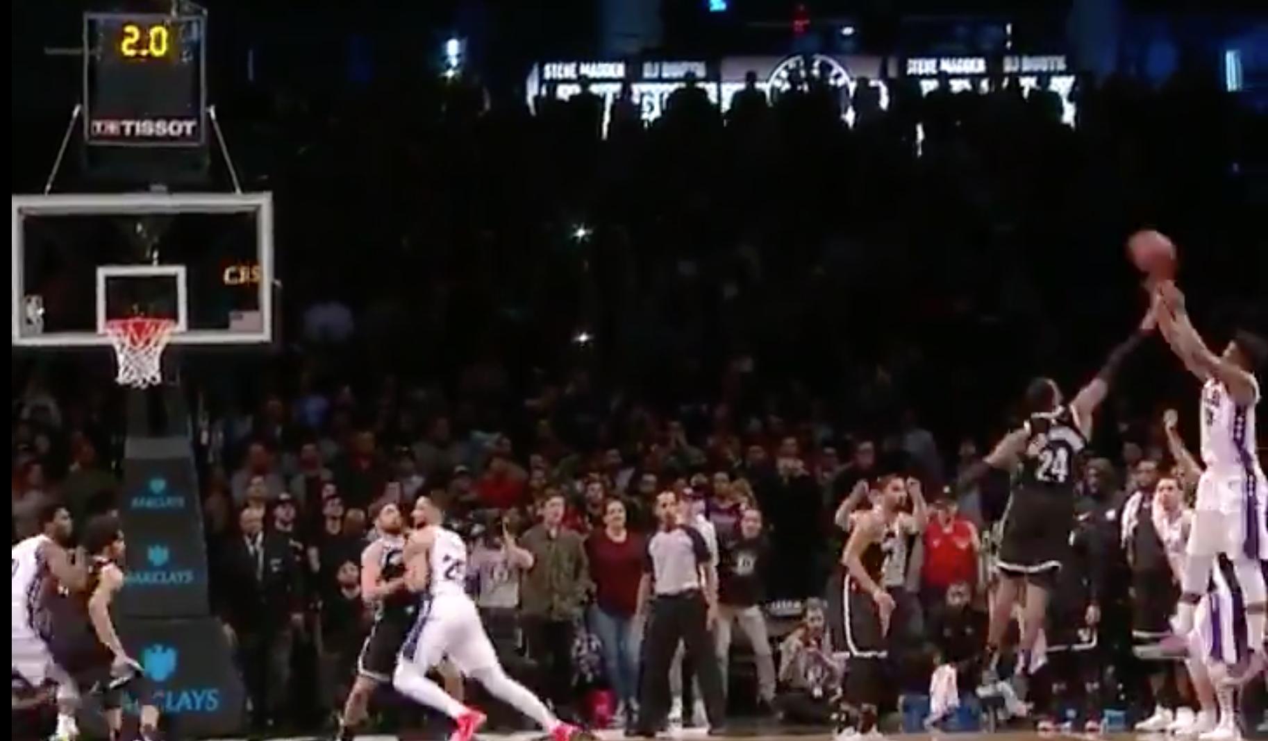 Watch: 76ers' Jimmy Butler makes game-winning three vs. Nets | SI.com