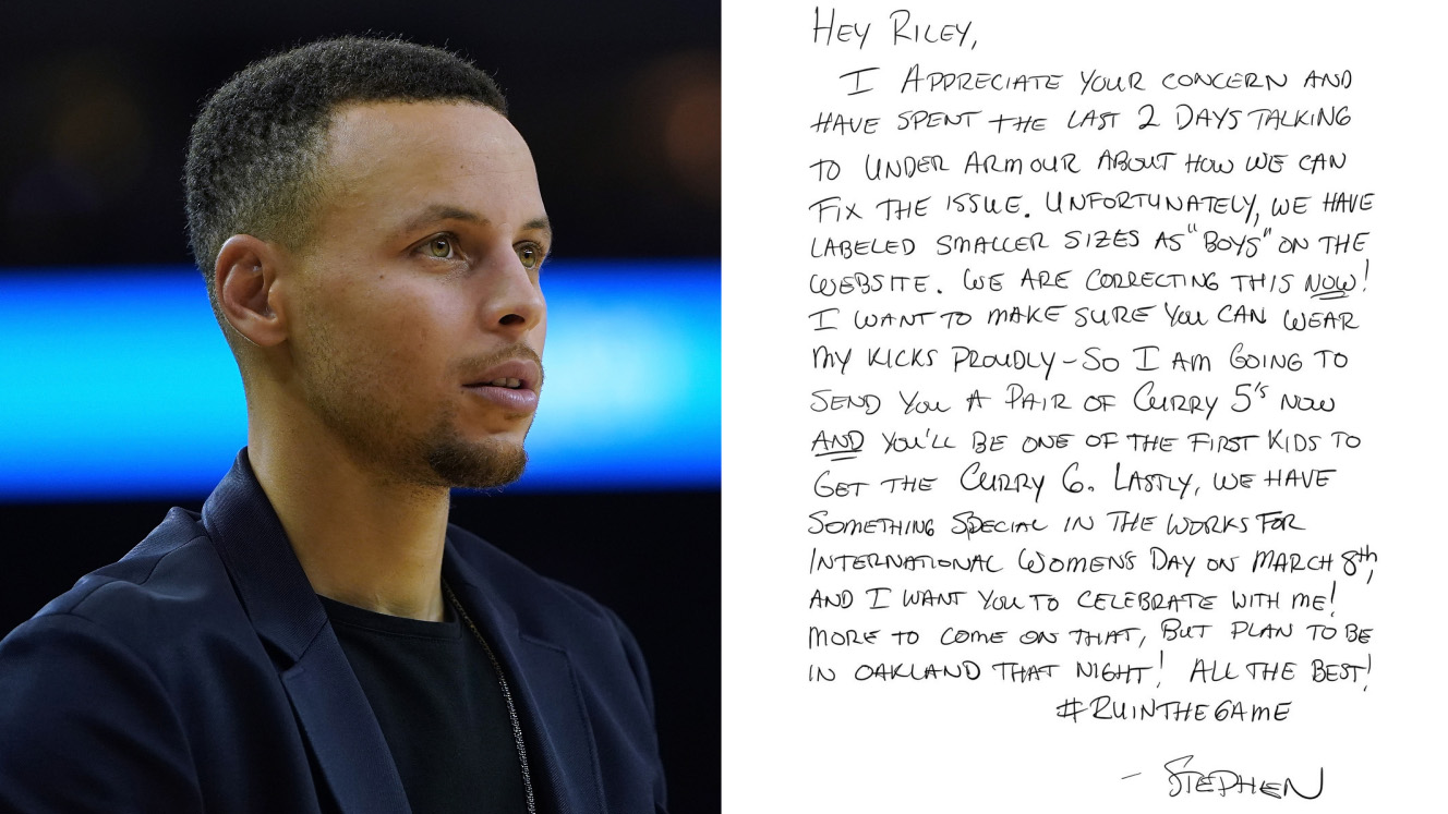 Stephen-curry-under-armour-sneakers-girl-letter
