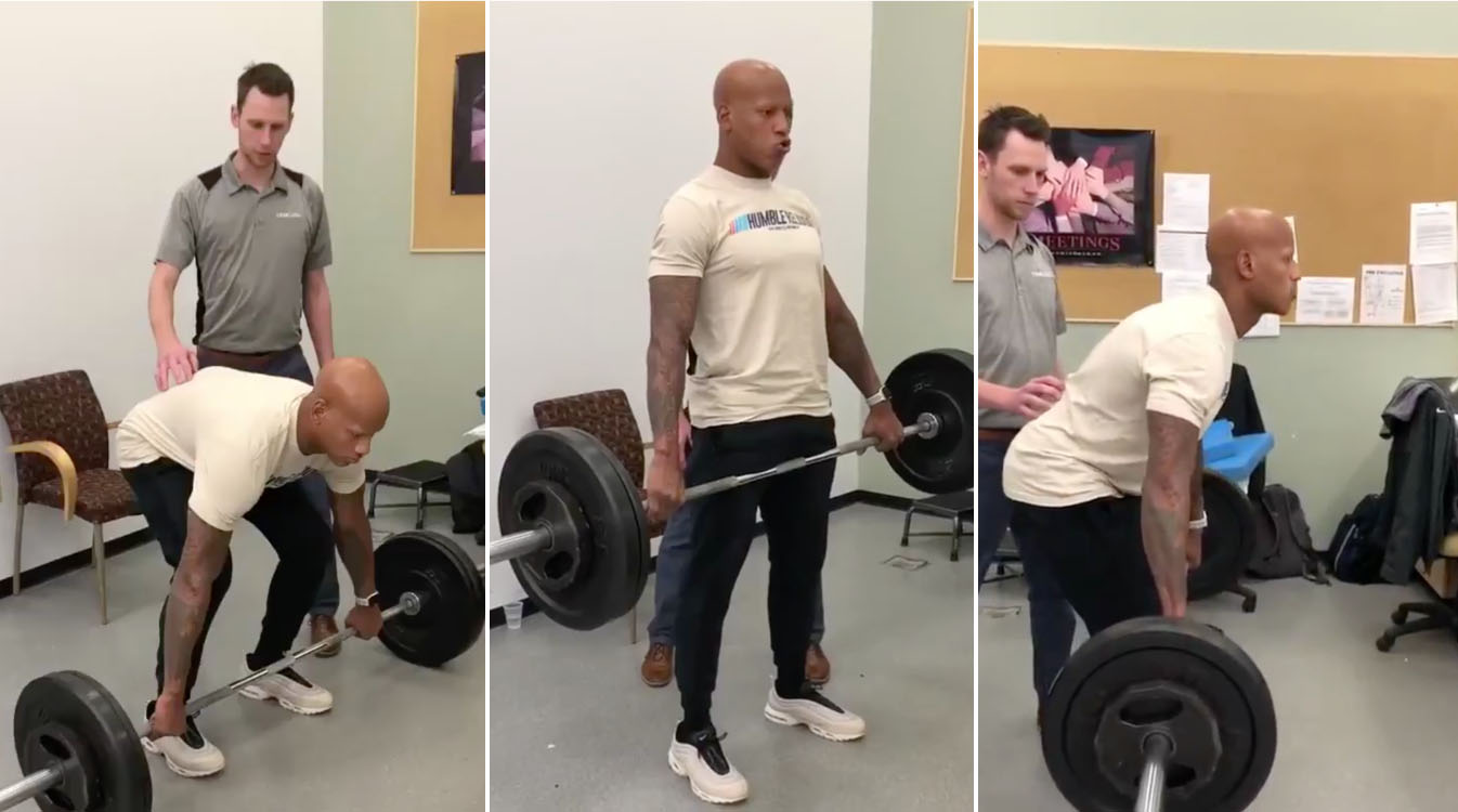Watch: Steelers' Ryan Shazier Lifts Weights as He Works Toward Return to Football