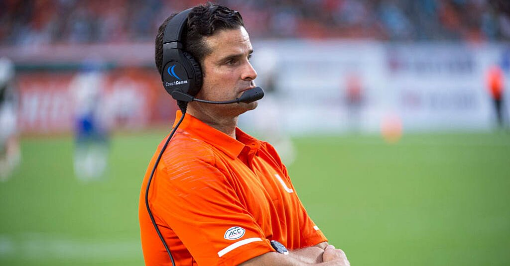 Report: Temple to Hire Miami DC Manny Diaz as Head Coach