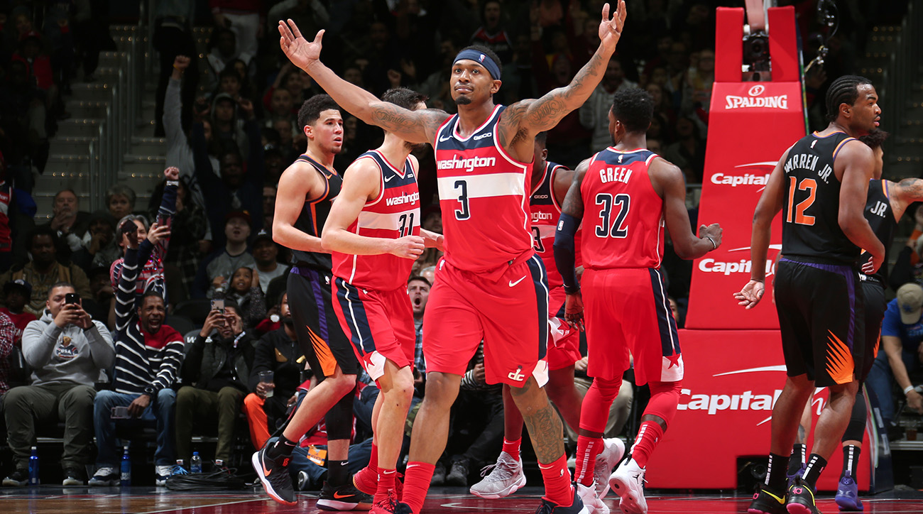 Three at 3: Beal Has Wizards Rolling