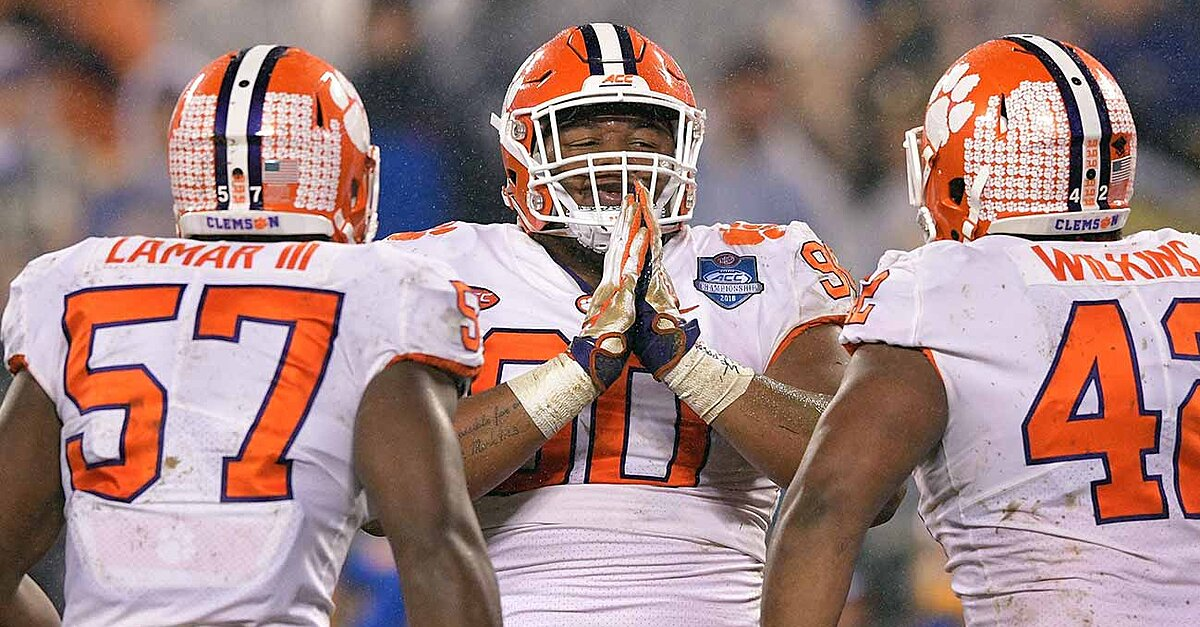 Dexter Lawrence's Suspension Seems All but Sealed as Clemson Preps for Cotton Bowl