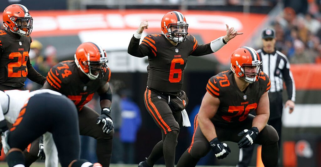 Baker Mayfield Fine Cleveland Browns Qb Penalized For Gesture