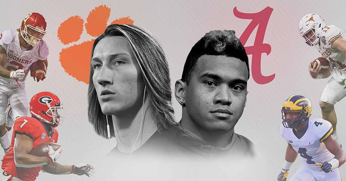 Way-Too-Early Top 25: Clemson leads 2019's first rankings