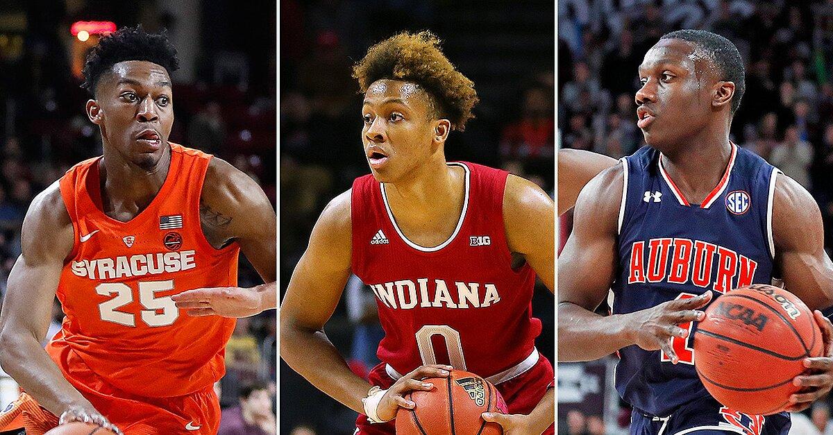 Indiana, Syracuse, Auburn Lead NCAA Tournament Bubble