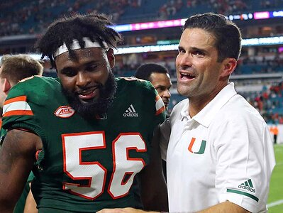 wholesale dealer 7dc03 d53b6 Miami football: Manny Diaz out to make Hurricanes look ...
