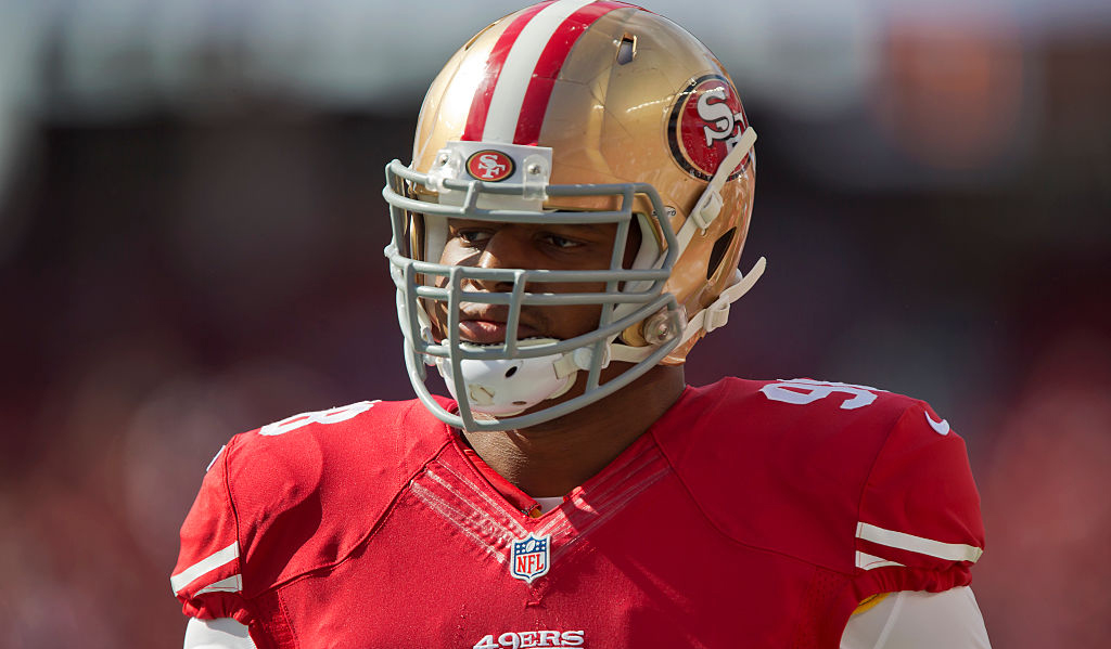Olympian, Former NFL Player Lawrence Okoye Arrested in Prostitution Sting