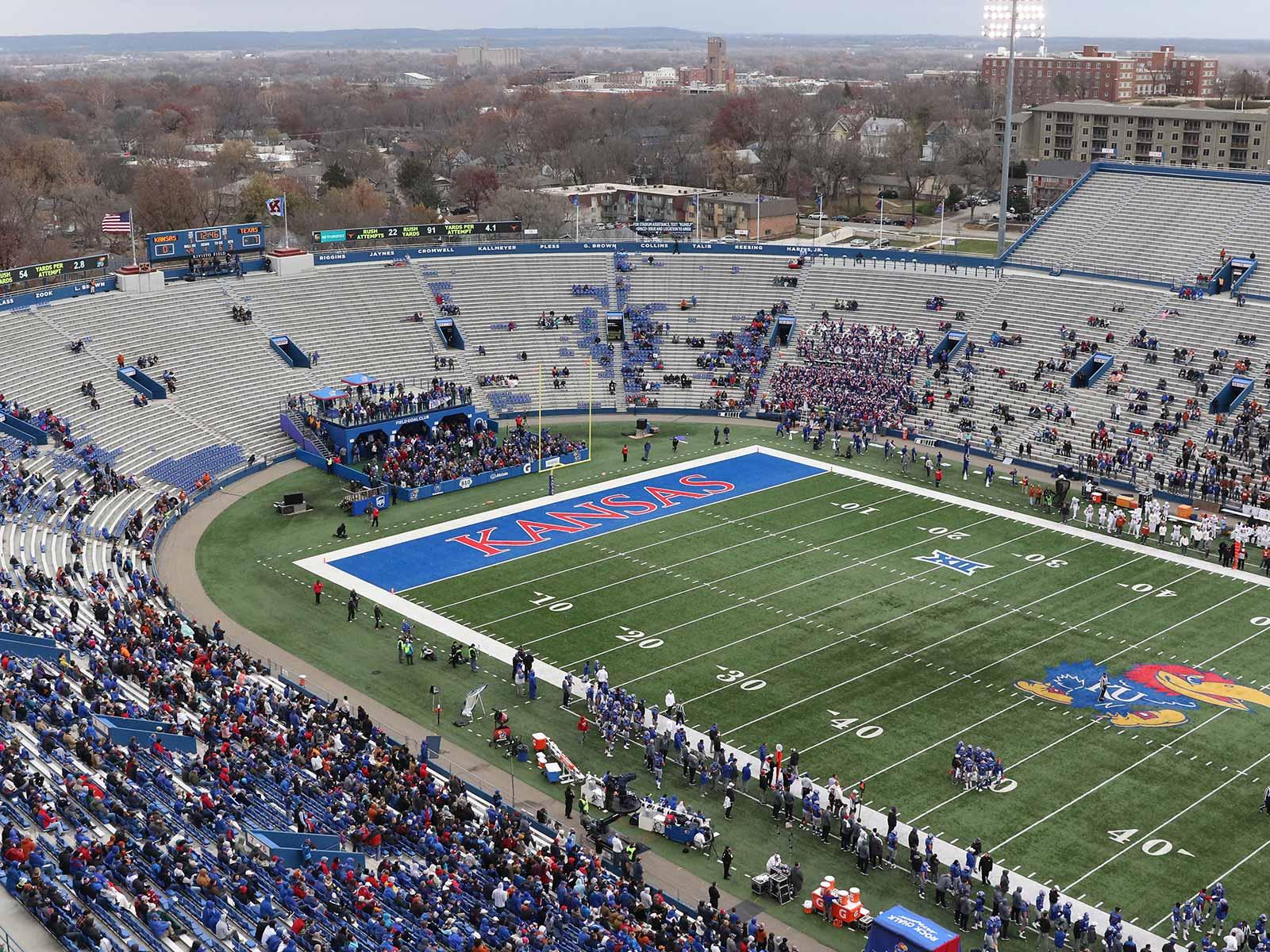 Les Miles Vs Kansas Football The Power 5 S Toughest Job Si Com