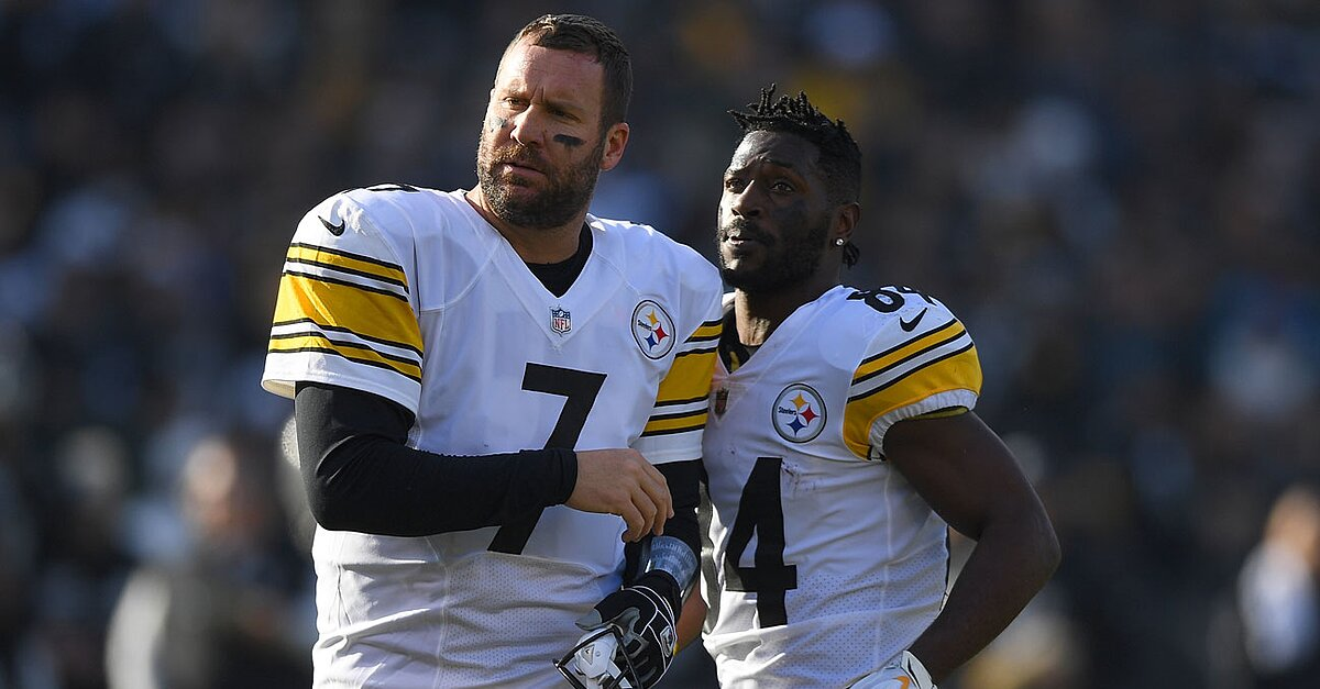 Steelers' Antonio Brown Says Ben Roethlisberger Has 'Owner Mentality'
