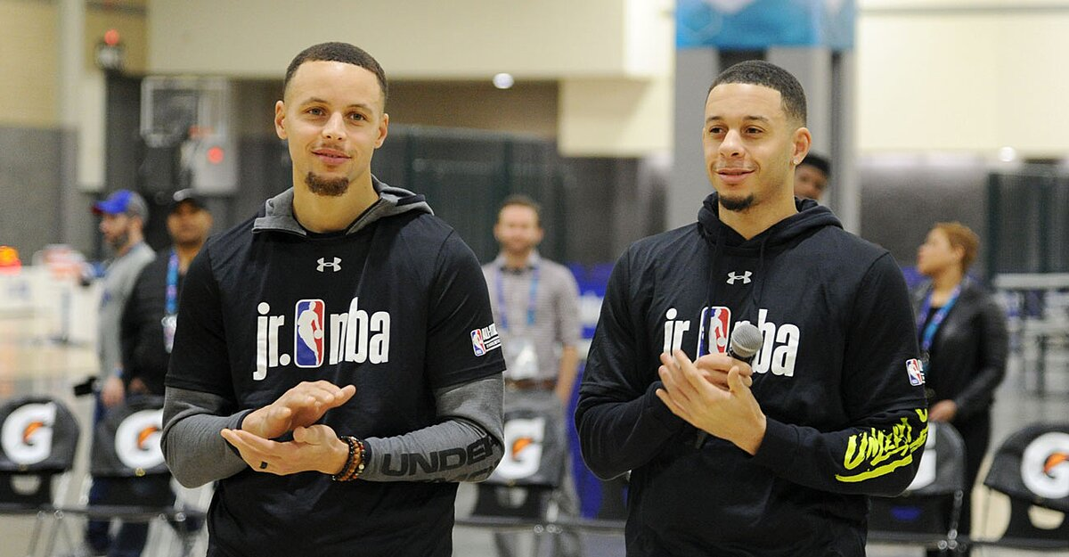 Curry Brothers Place Wager on NBA All-Star Three-Point Contest