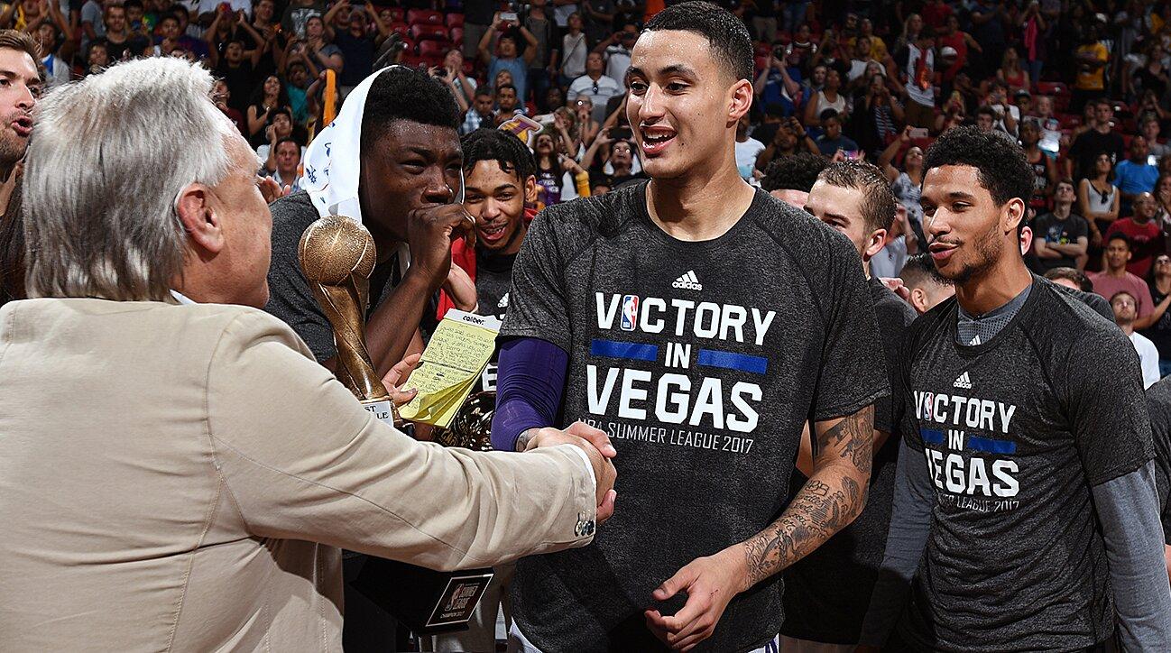 17ba368e7 Lakers  Kyle Kuzma on LeBron