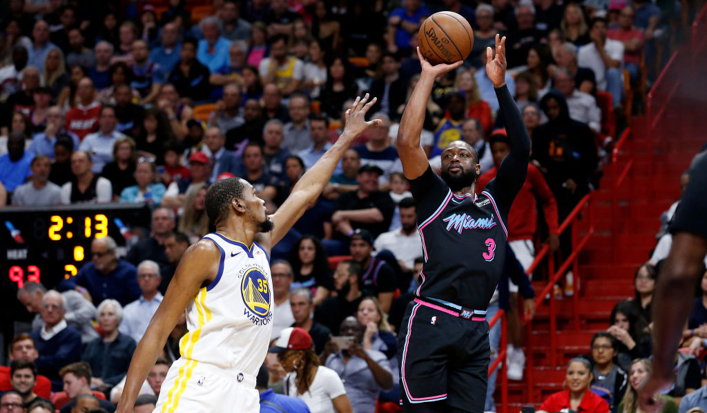 A Game Genre Copycat Face Off Heats Up: Dwyane Wade Makes Game-winning Three-pointer Off One Foot