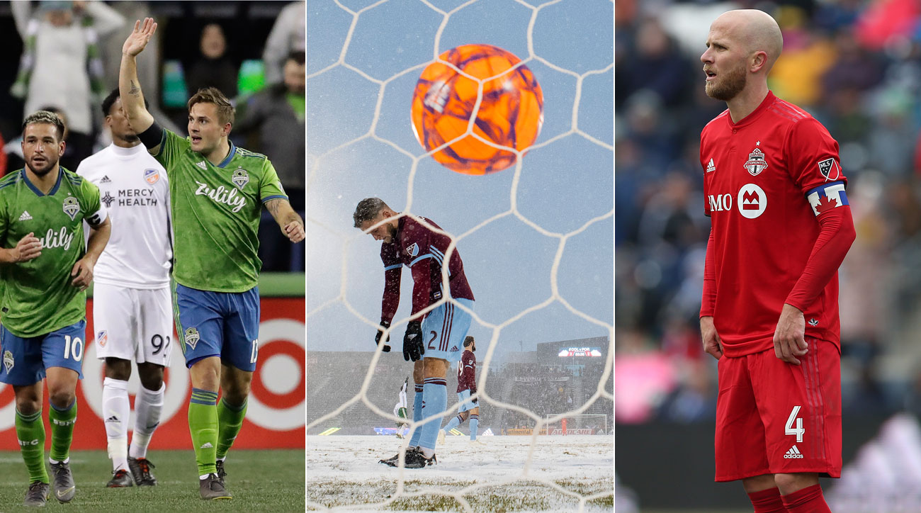 The 2019 MLS season kicked off with some standout performances, some controversy, a new beginning and a glorious orange ball. Here's the best from opening weekend.