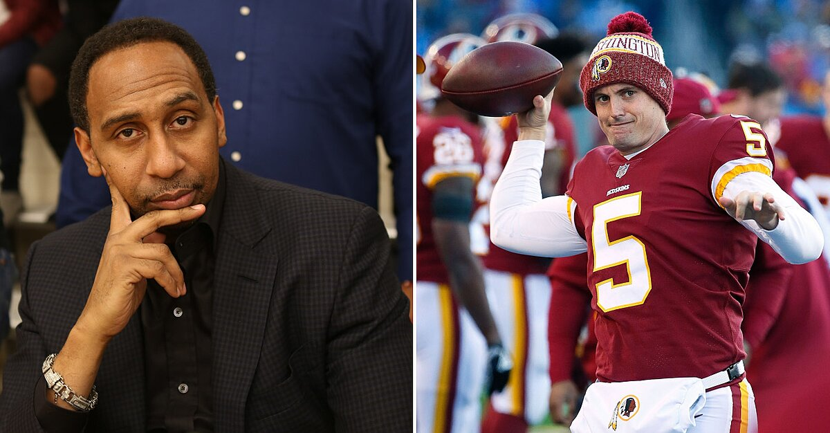 new styles 5291a cb0f7 Tress Way video: Stephen A. Smith says Redskins punter ...