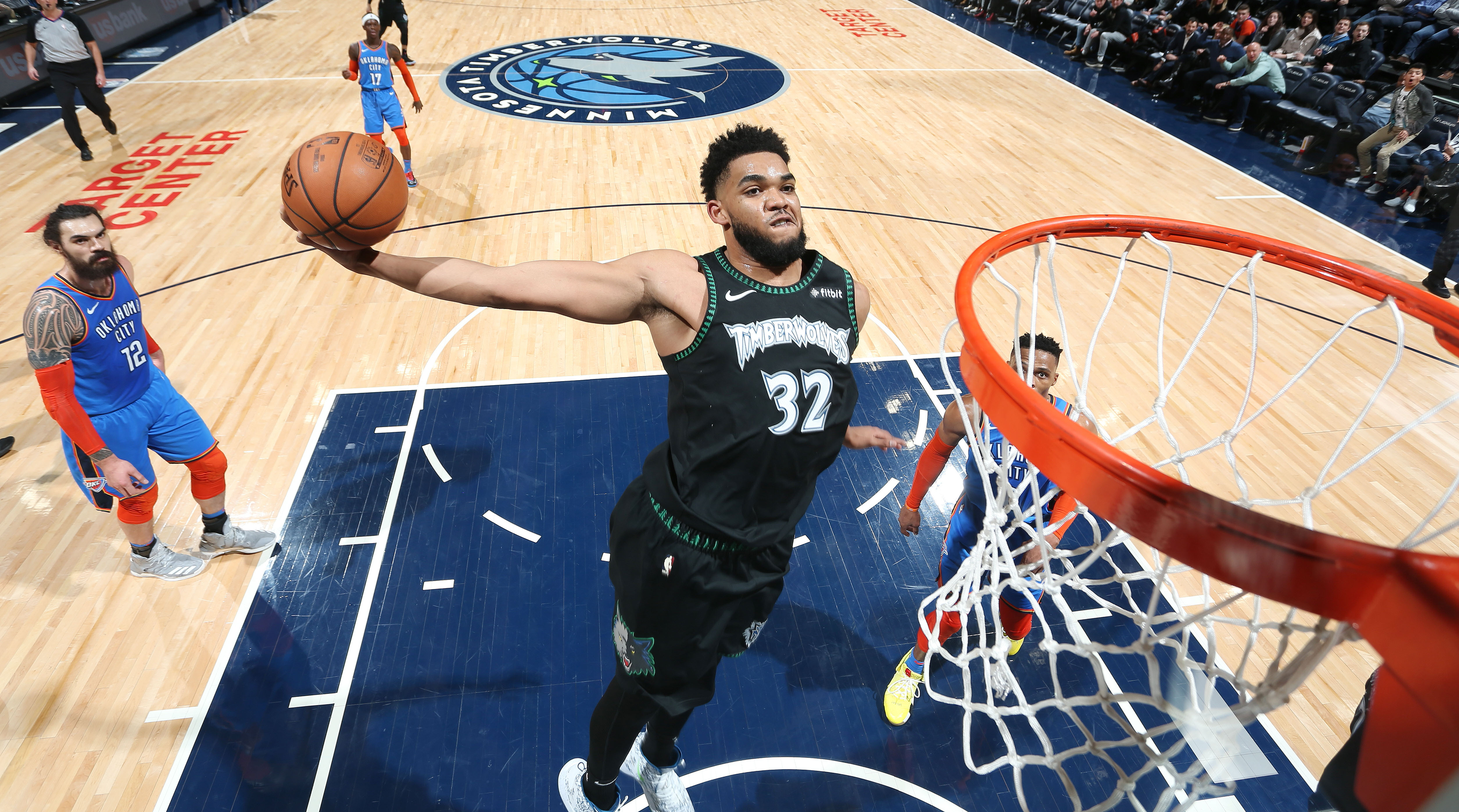 Karl-Anthony Towns has played his best basketball to close a season to forget. With the Timberwolves clearly out of the playoff picture, he's embraced his place at the center of Minnesota.