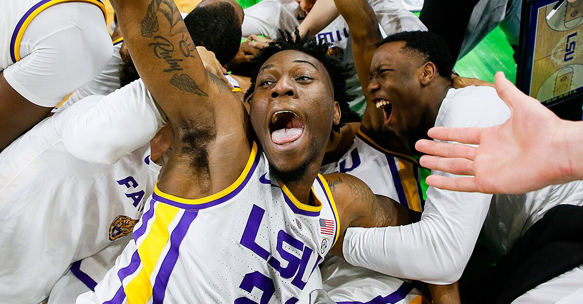 Like It or Not, LSU Is Still Dancing After Last-Minute Heroics Against Maryland