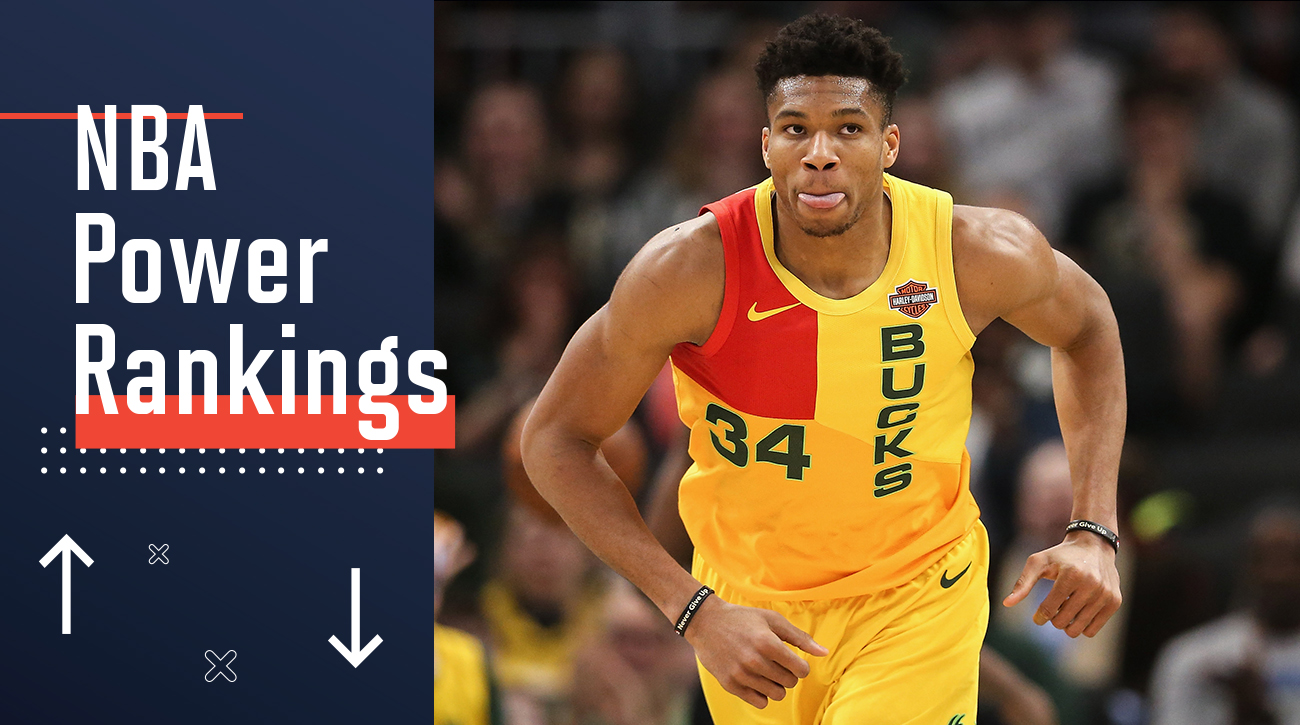 Can GiannisAntetokounmpo and the Bucks fulfill expectations that come with a top seed in a LeBron James-less Eastern conference? With the NBA season winding down, Sports Illustrated takes a look at what each team should look forward to in the latest edition of power rankings.