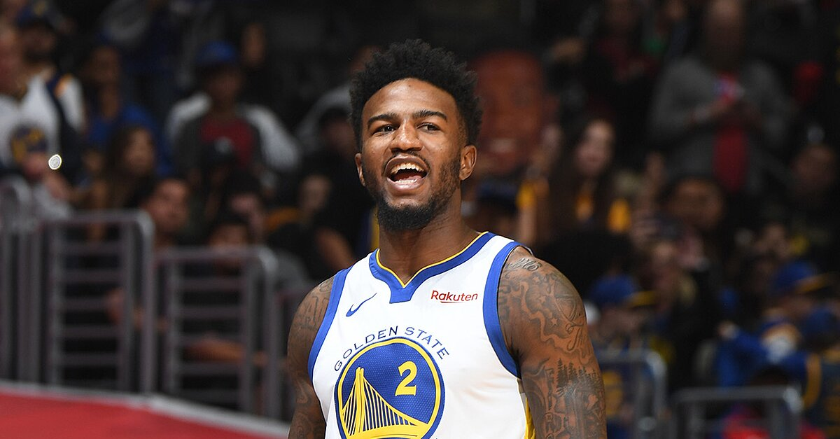 d7c8d8d1208 Report: Warriors' Jordan Bell Suspended For Putting Hotel Charge On  Assistant Mike Brown's Bill