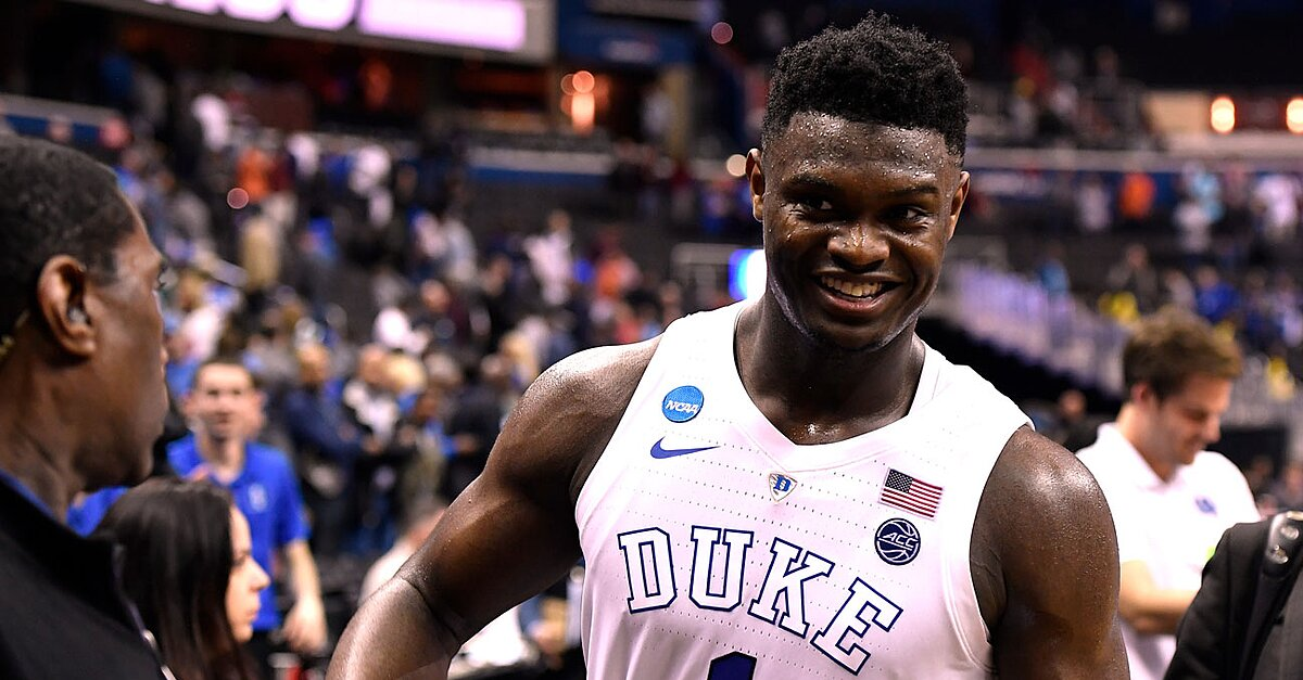 b9f09b54cf08 Sonny Vaccaro expects Zion Williamson s shoe deal to make history ...
