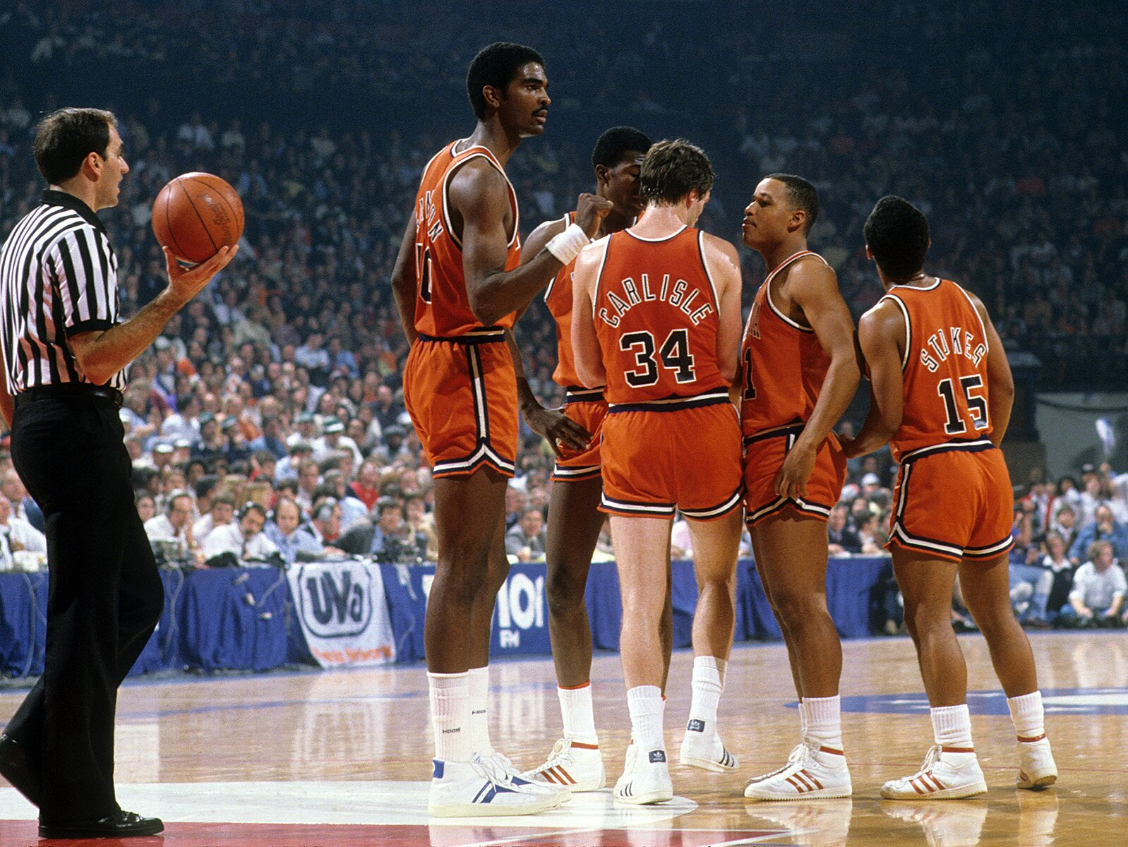 Ralph Sampson: Final Four time to reflect on Virginia legend