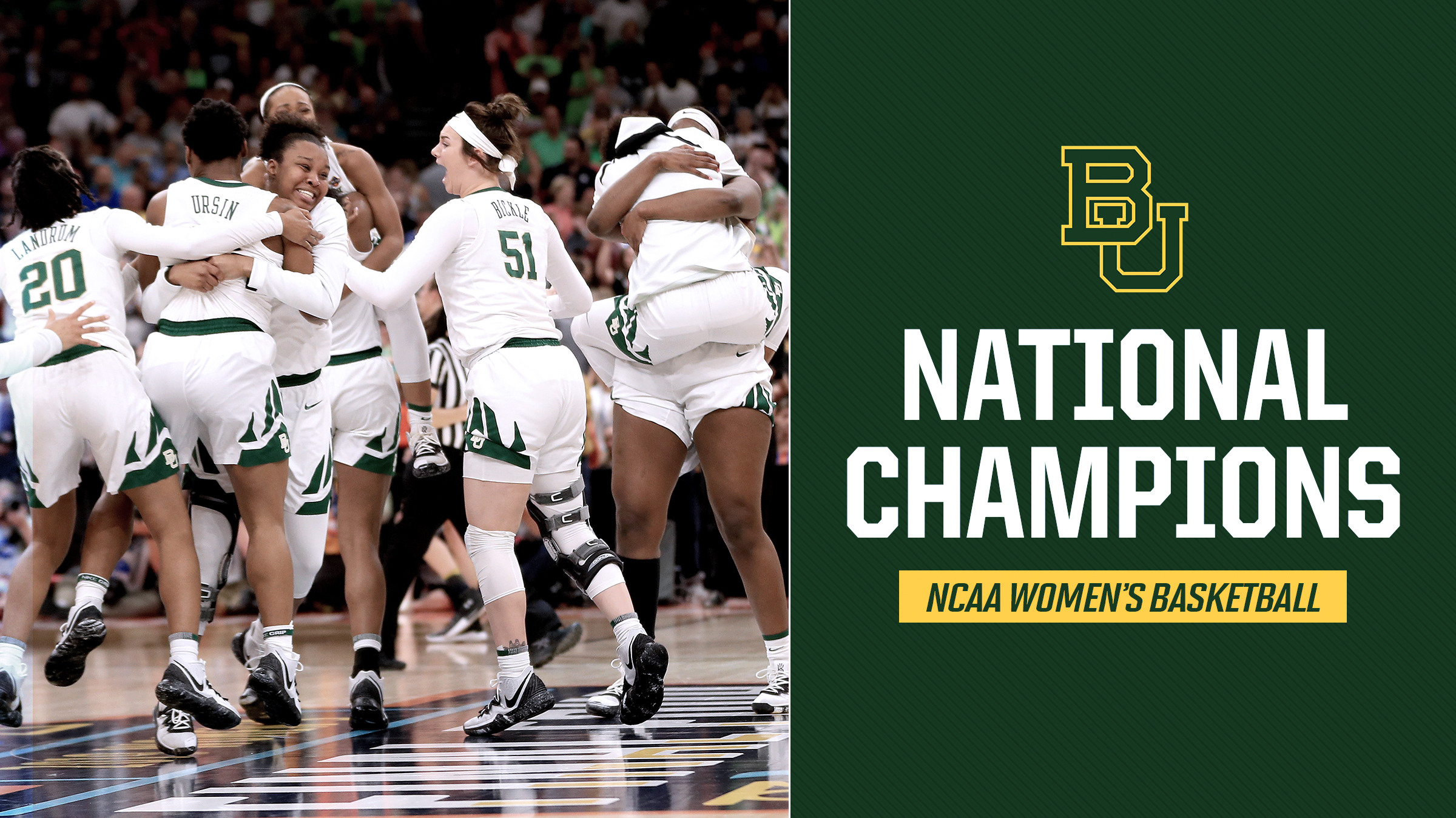 In a season of parity across women's basketball, Baylor was the one consistent force, but its national championship journey was far from simple.