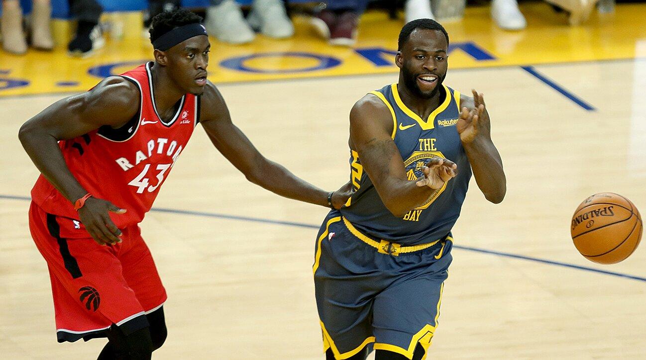 san francisco 6a60f aae86 NBA Playoffs  Would Raptors trade Pascal Siakam for Draymond Green    SI.com