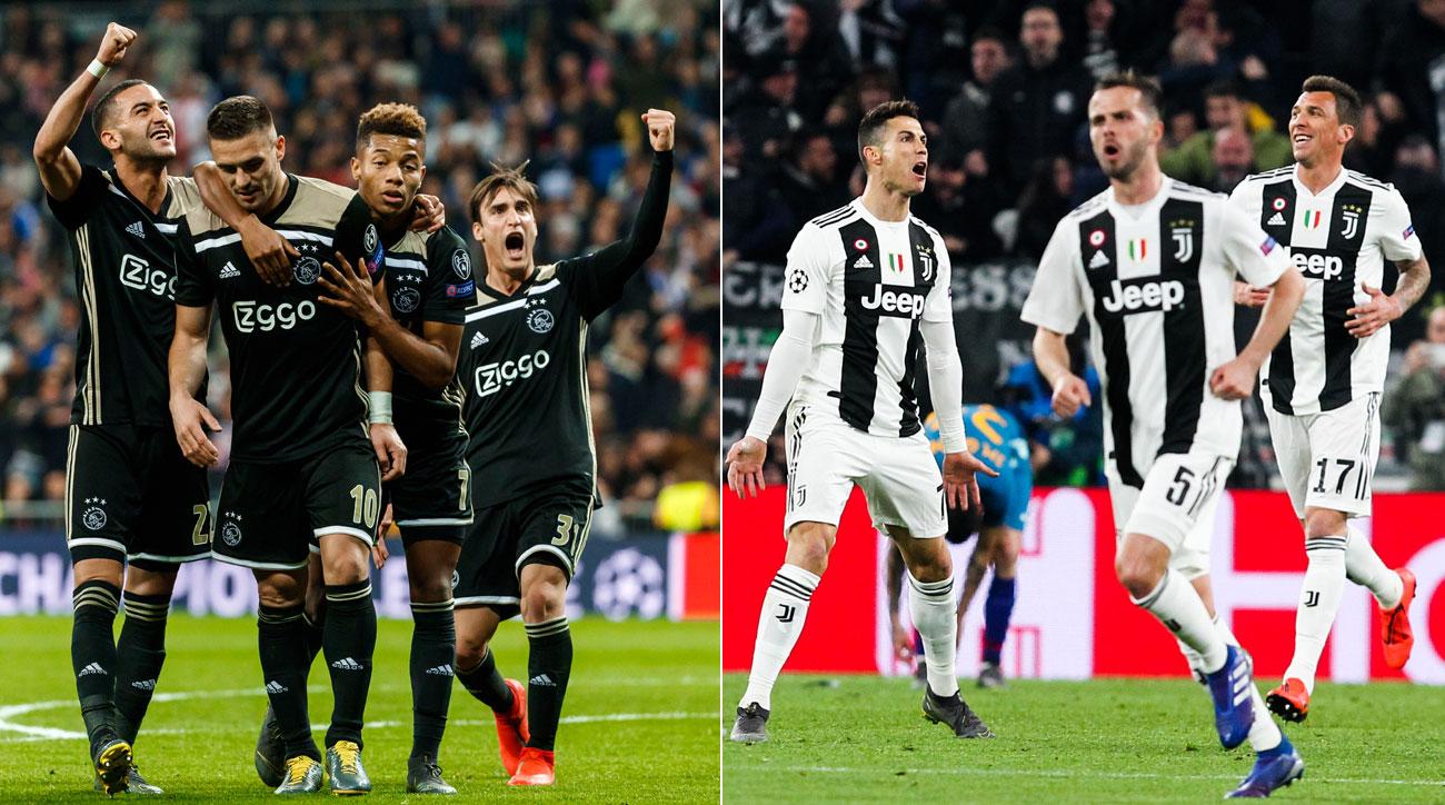Ajax Vs Juventus: Champions League Video, Updates (LIVE