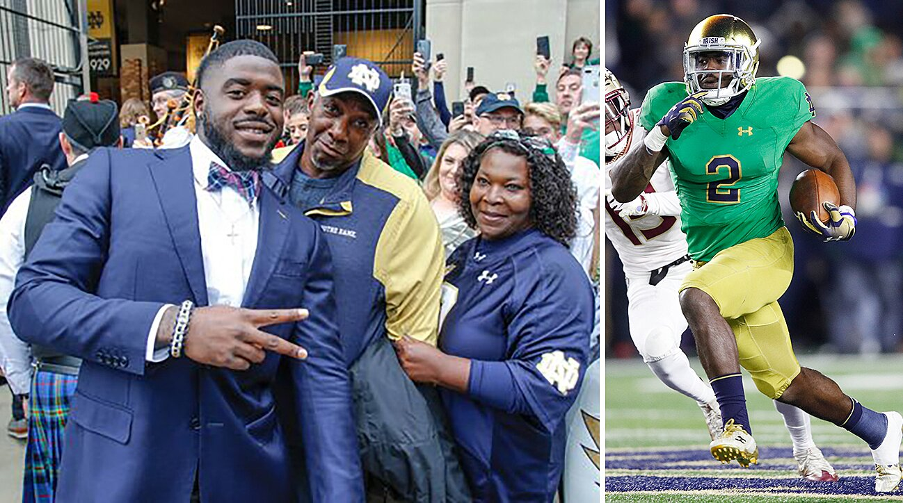 promo code 3c741 96280 Notre Dame RB Dexter Williams: How mom became roommate | SI.com
