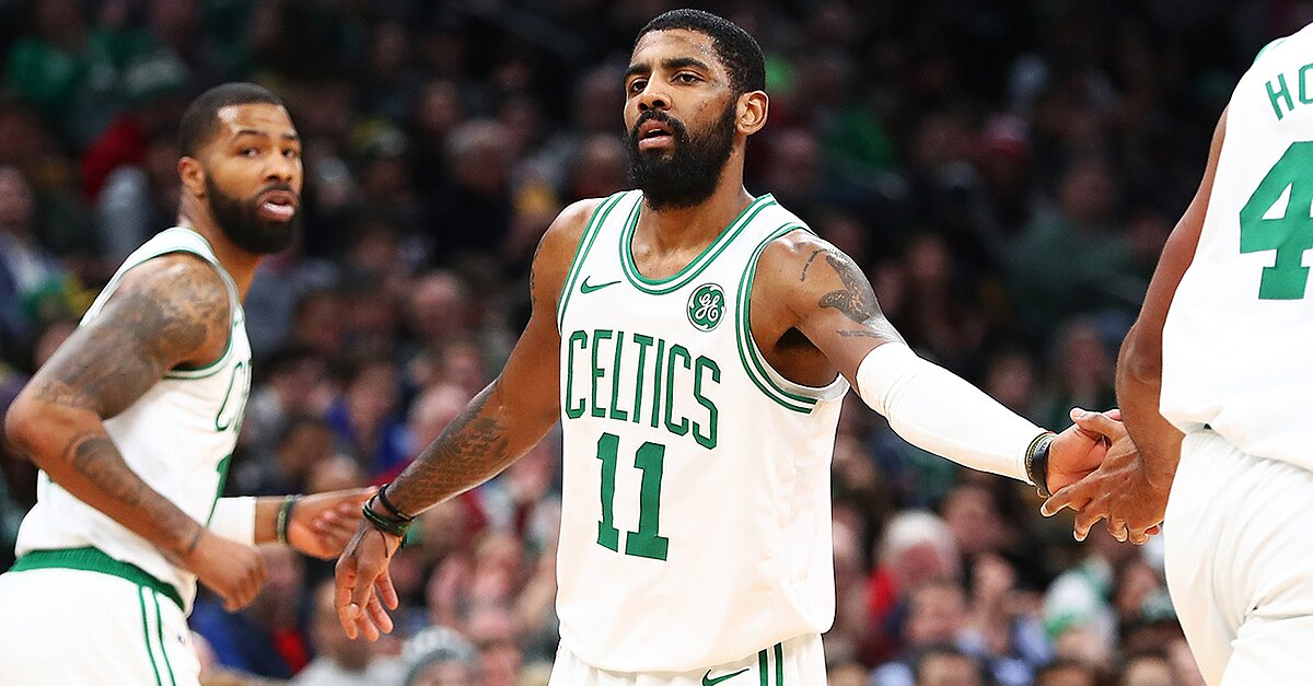 Kyrie Irving couldn't wait to play in the playoffs for the Celtics. After a challenging season that has questioned his leadership and commitment, the All-Star is showing Boston what he can do on the NBA's biggest stage.