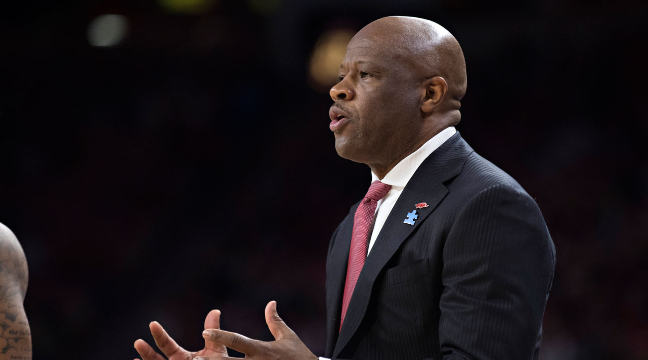 Report: St. John's Finalizing Deal with Former Arkansas Coach Mike Anderson