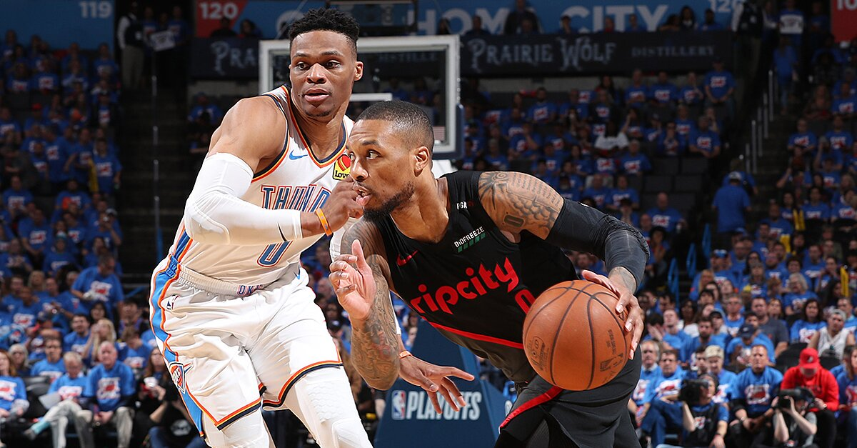 Damian Lillard is on the brink of winning the first-round battle between the two point guards, and Portland's superstar seems to have his team on a better path to long-term success.