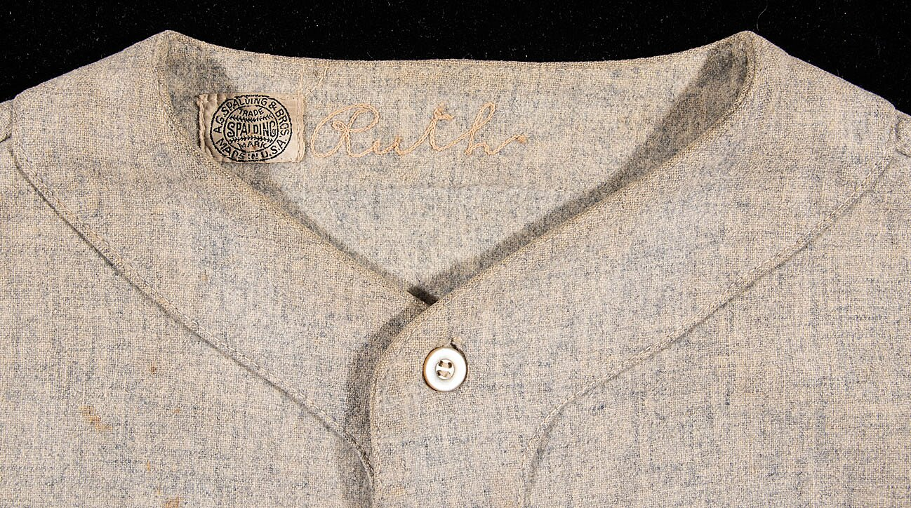 official photos 1d70c ea863 Babe Ruth jersey expected to sell at auction for over $4.5 ...